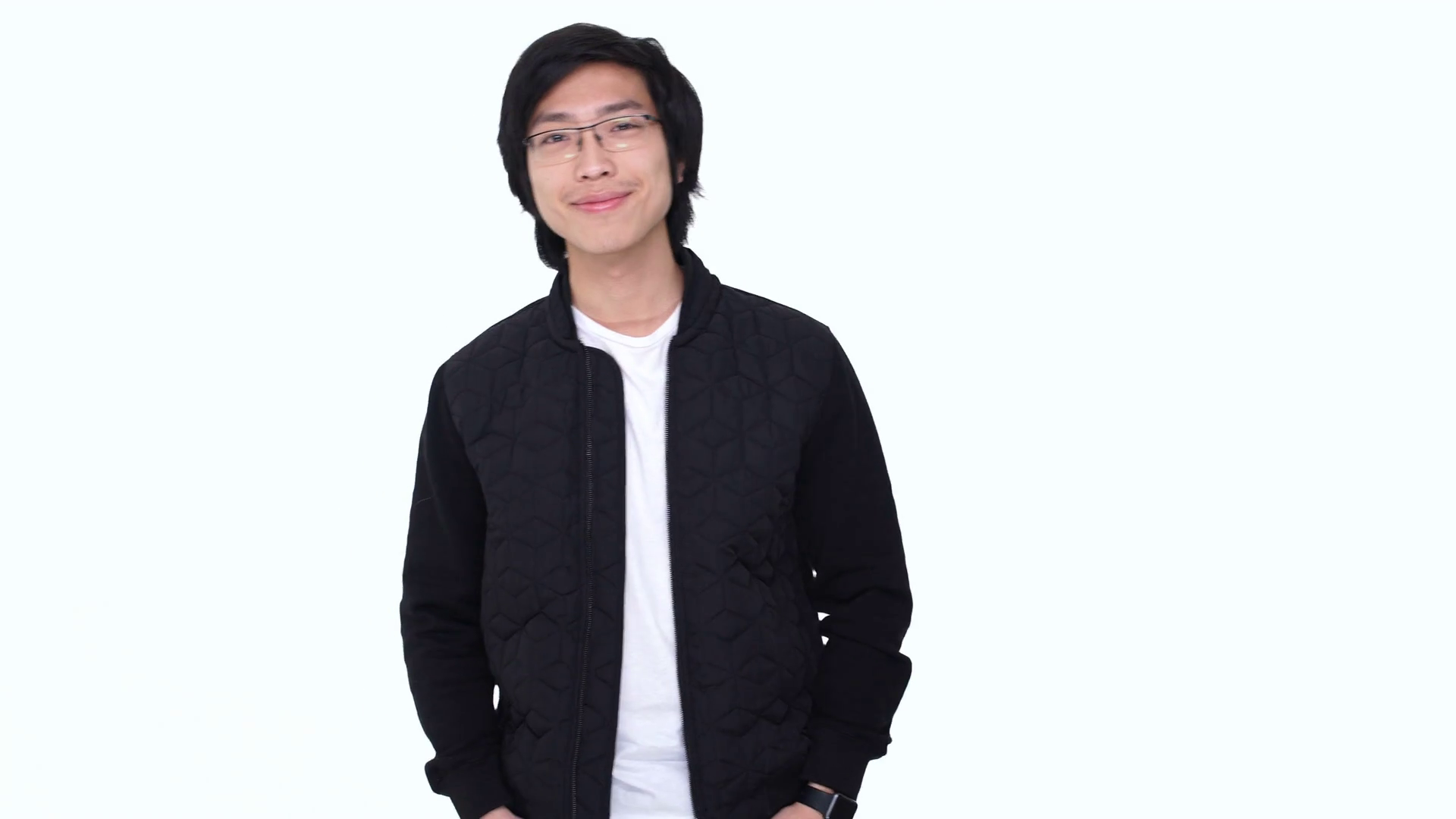 Young Smiling Asian Man Standing With Arms Folded And Looking At Camera  Isolated Over White Stock Video Footage - VideoBlocks - Asian Guy PNG