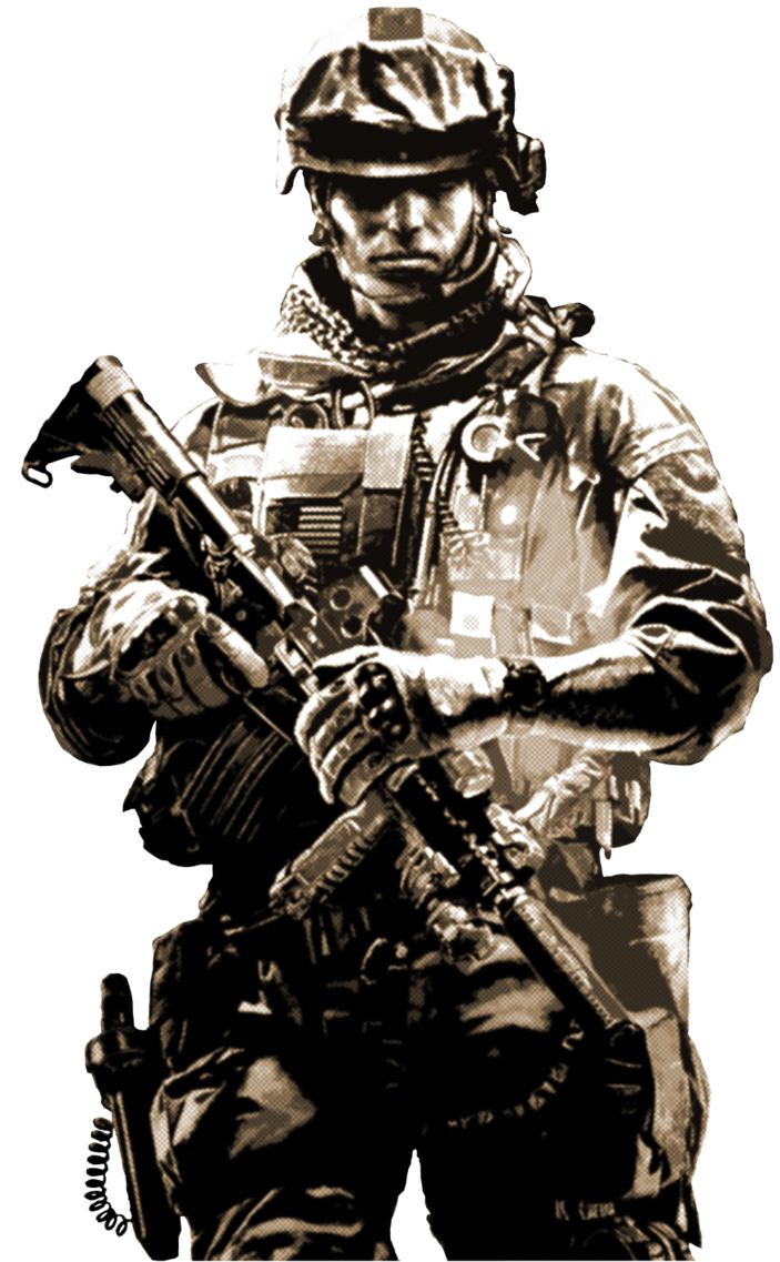 Battlefield Soldier PNG by Drakonias115 PlusPng.com  - Asker PNG