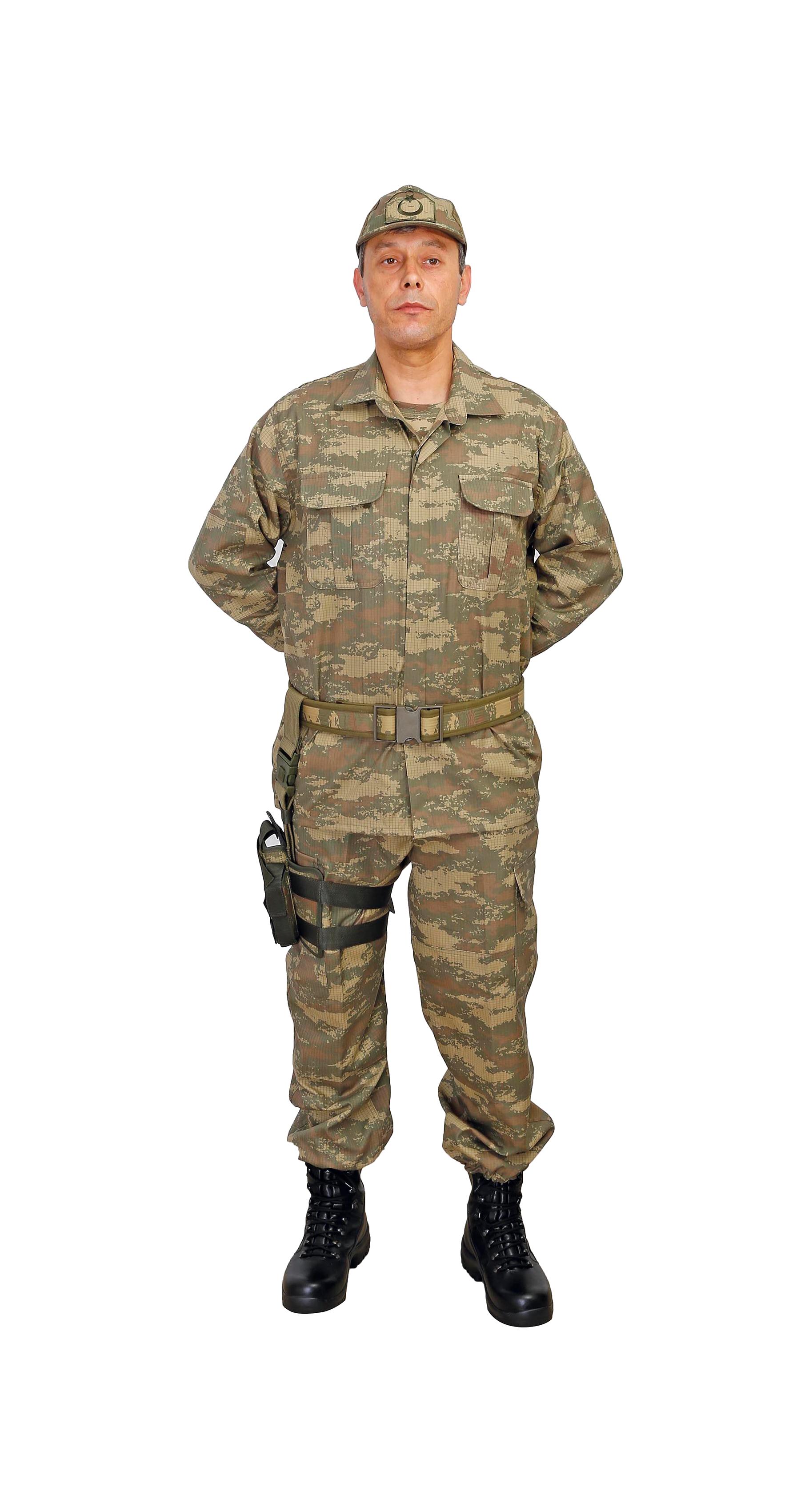 FD-MT 9080 ASKER EĞİTİM ELBİSESİ - Asker PNG