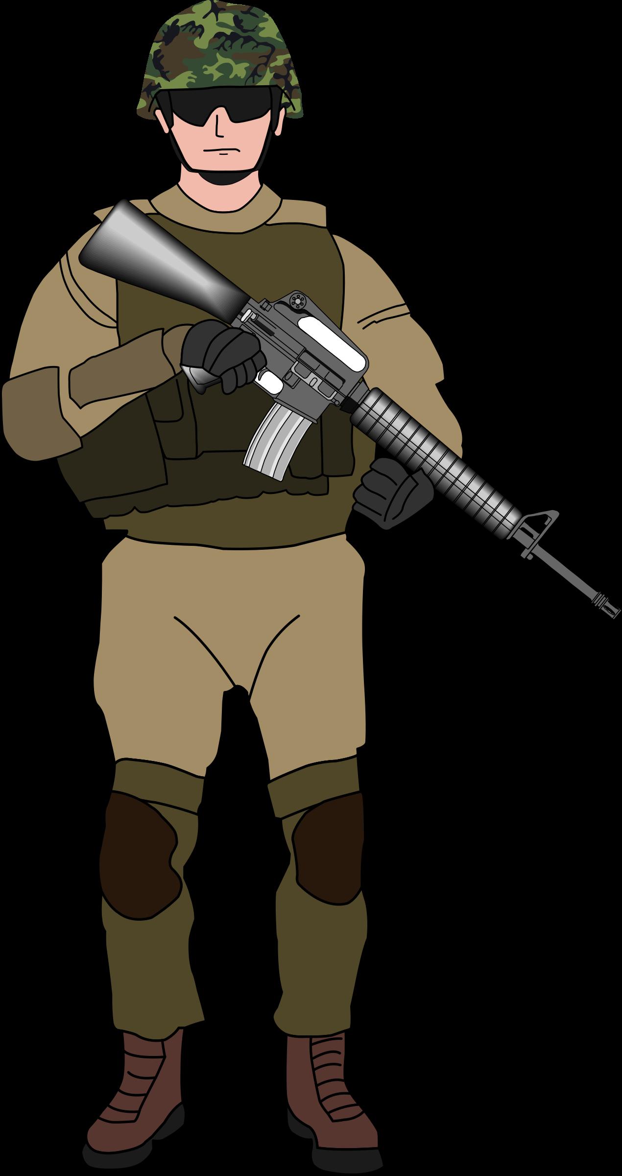 Soldier Transparent PNG - Asker PNG