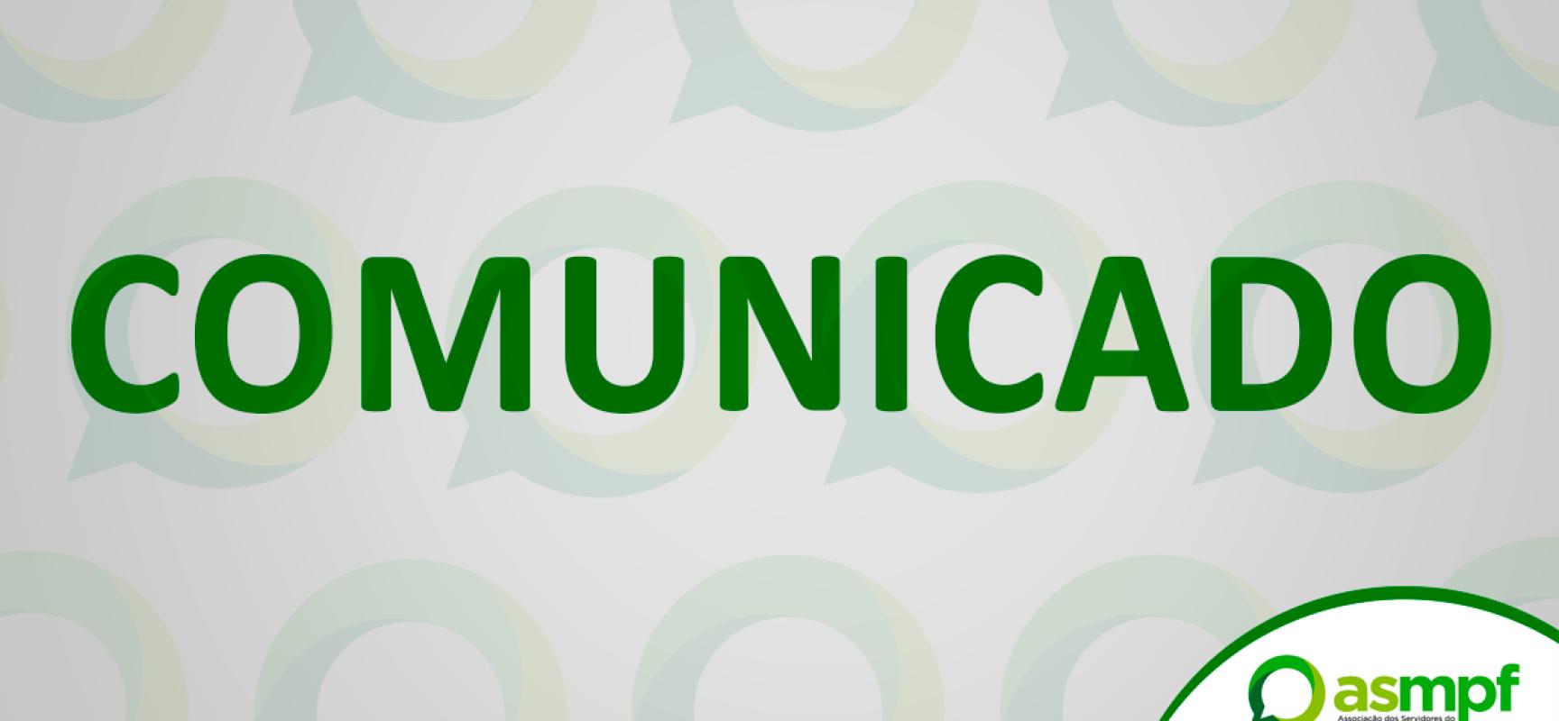6° Comunicado do Presidente Interino da ASMPF: Portaria PGR/MPU Nº 124/ - Asmpf Logo PNG