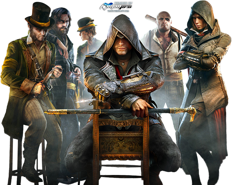 Assassinu0027s Creed Syndicate Render by irancover PlusPng.com  - Assassin Creed Syndicate PNG
