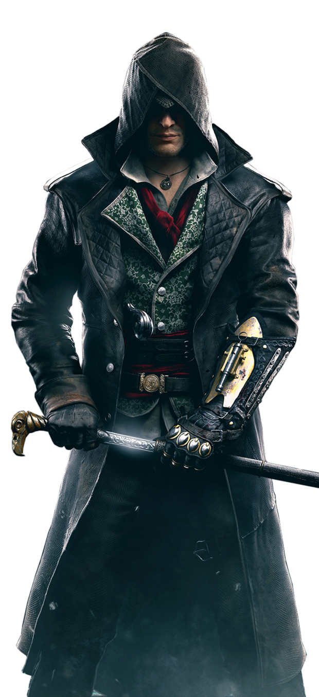 JACOB-FRYE-ASSASSINu0027S-CREED-SYNDICATE-LEATHER-COAT - Assassin Creed Syndicate PNG