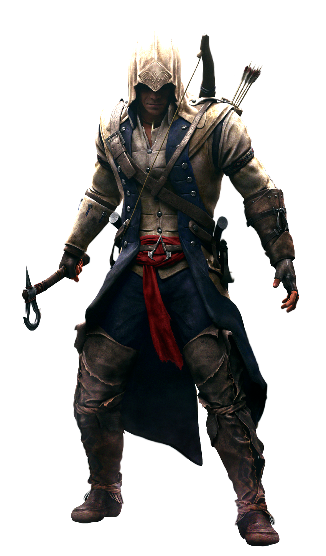 ACI-Connor - Assassins Creed HD PNG