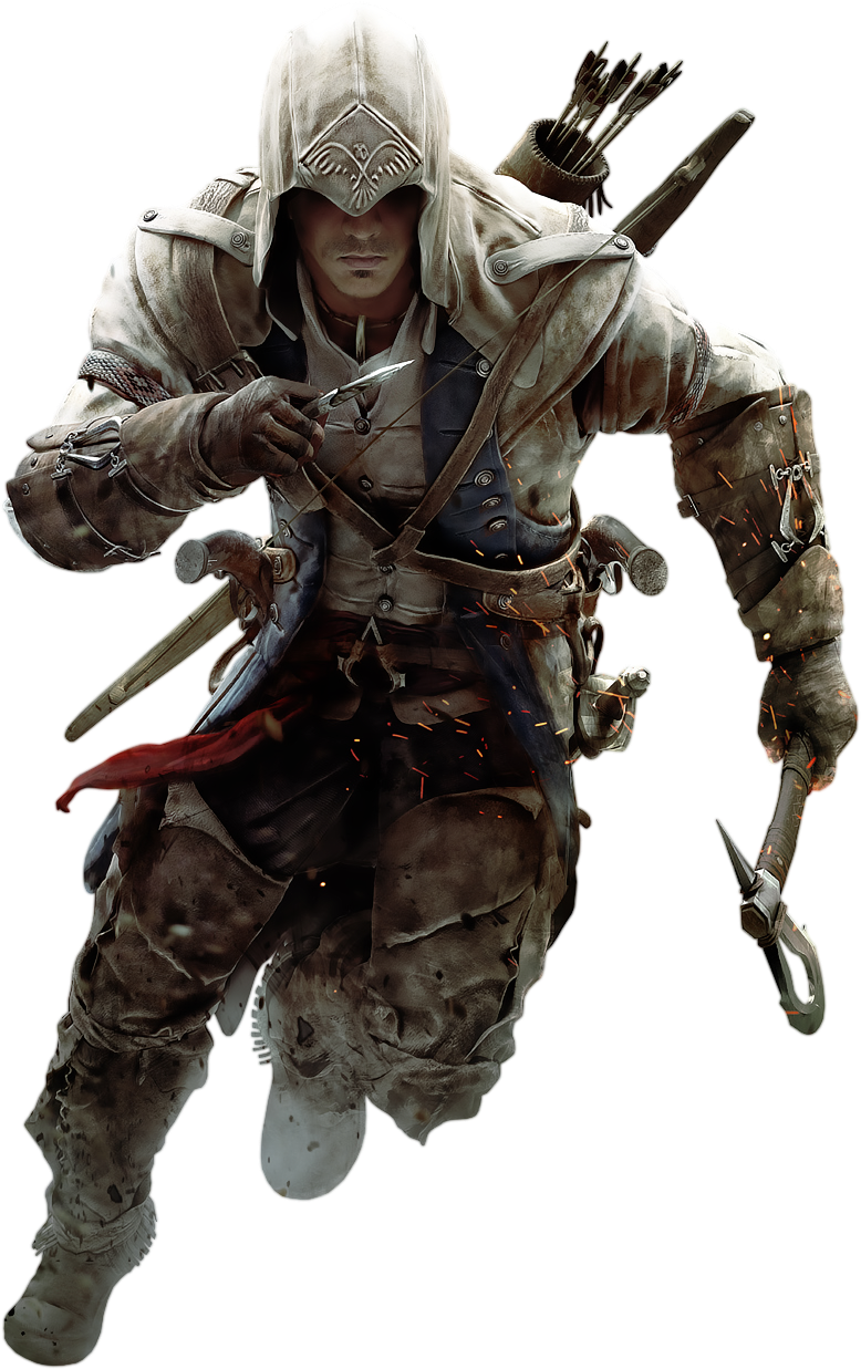 Assassinu0027s Creed III - Connor Kenway 2 by IvanCEs.deviantart pluspng.com on  @DeviantArt - Assassins Creed HD PNG