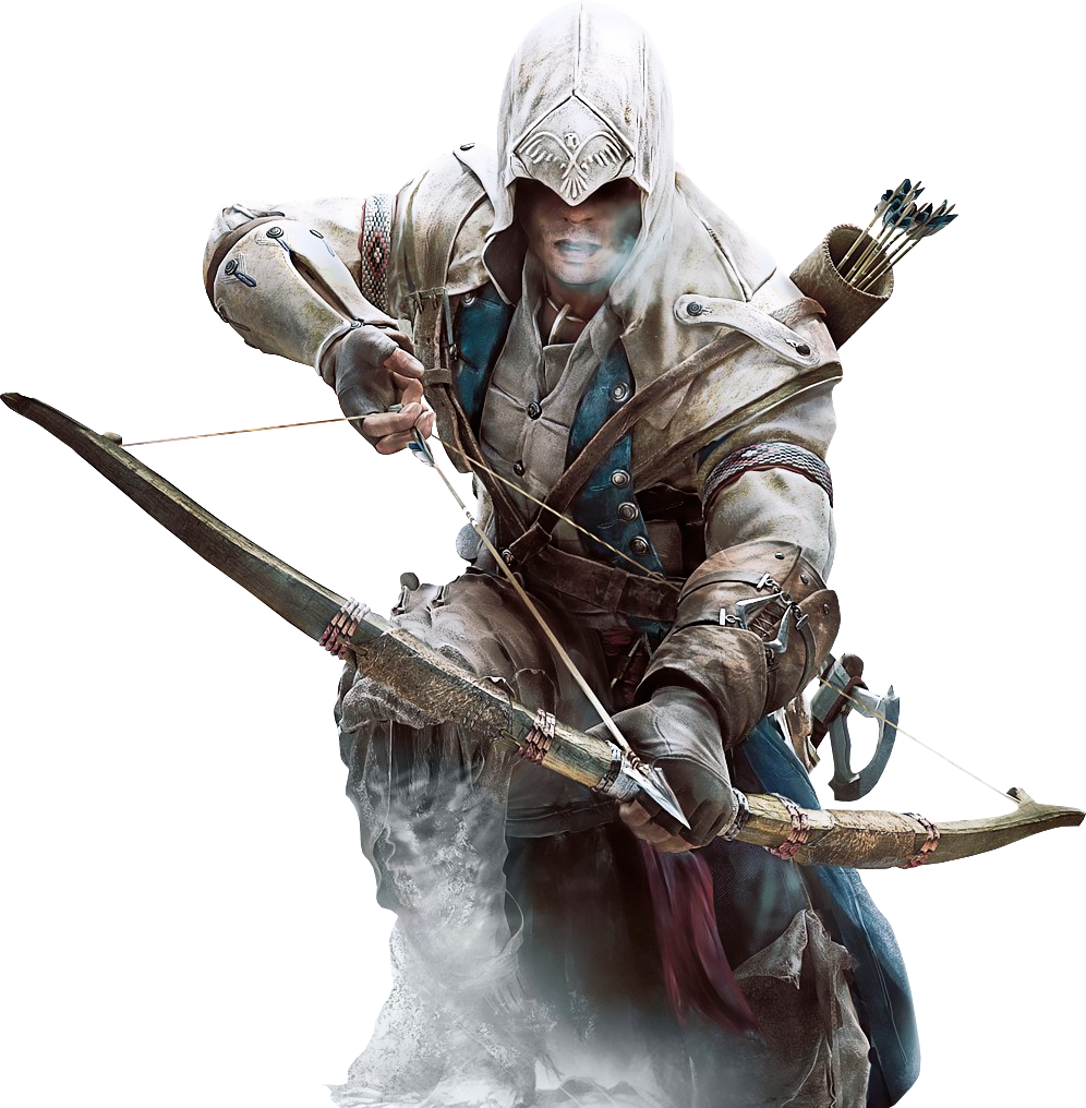 Assassinu0027s Creed III - Connor Kenway by IvanCEs on DeviantArt - Assassins Creed HD PNG