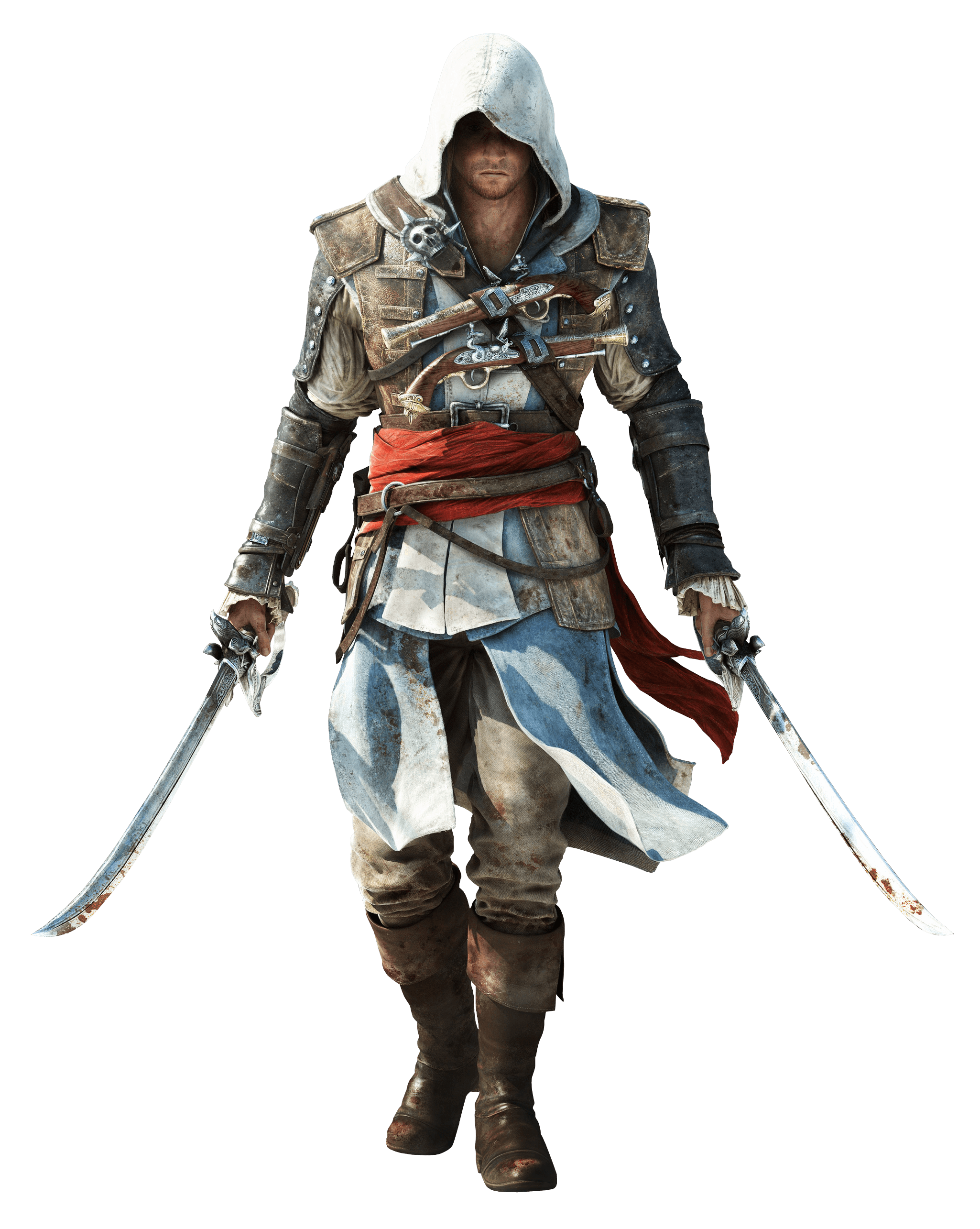 Assassins Creed Two Swords - Assassins Creed HD PNG