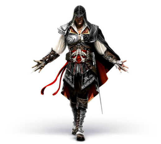 File:AC2 Ezio armor render 1 by Michel Thibault.png - Assassins Creed HD PNG
