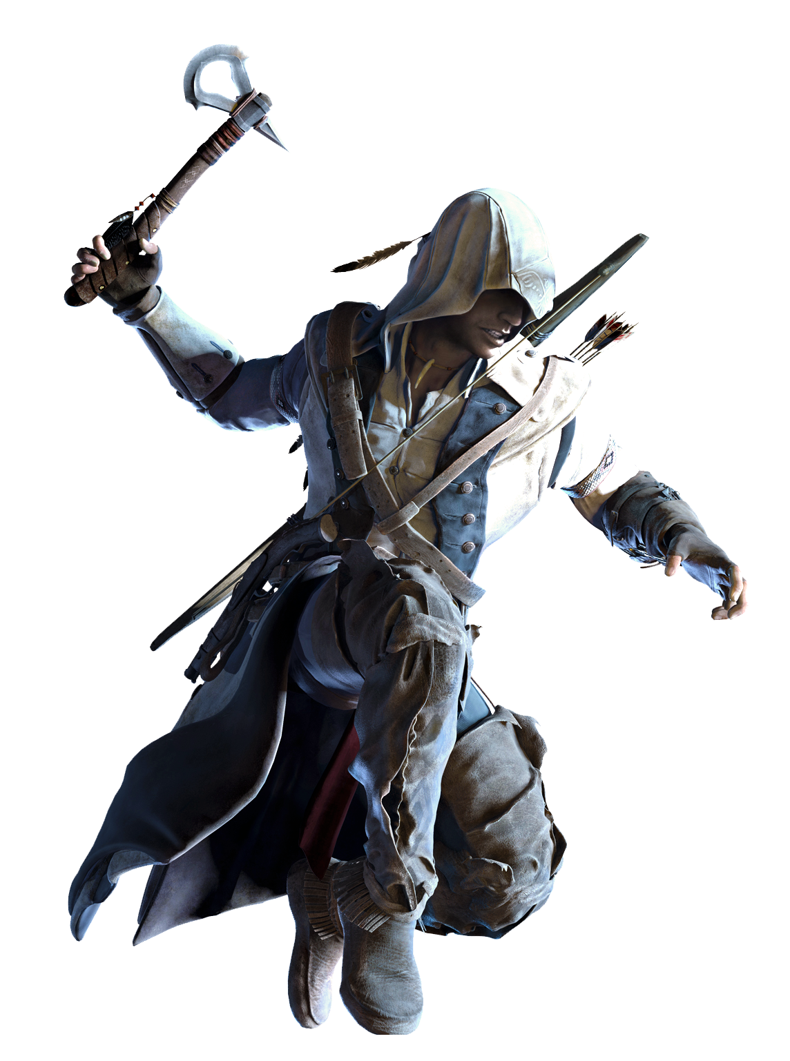 Image - AC3 Connor AA Render.png | Assassinu0027s Creed Wiki | FANDOM powered  by Wikia - Assassins Creed HD PNG