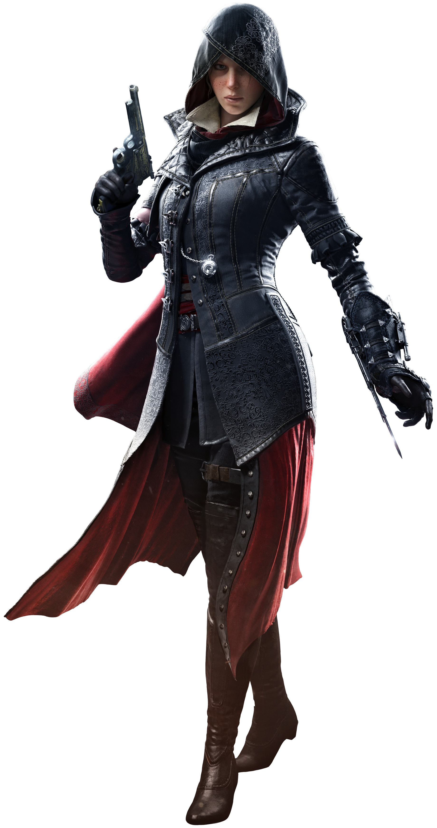 ACS Evie Frye Render.png - Assassins Creed Unity PNG