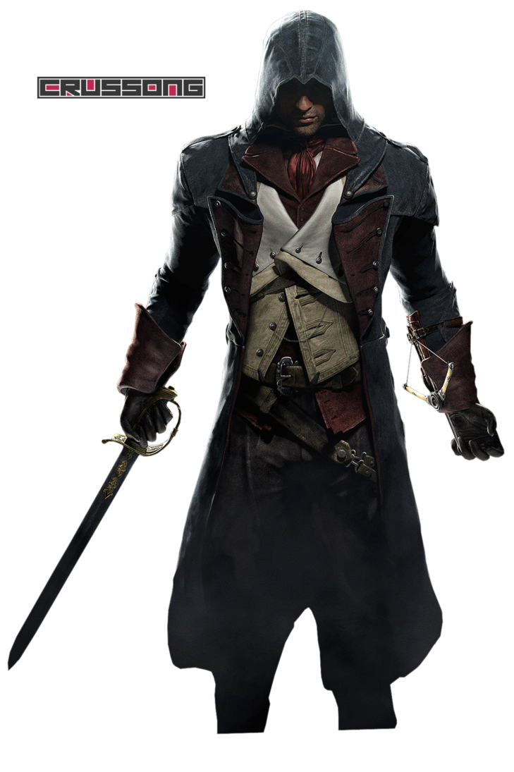 Assassinu0027s Creed: Unity - Arno Dorian Render by Crussong PlusPng.com  - Assassins Creed Unity PNG