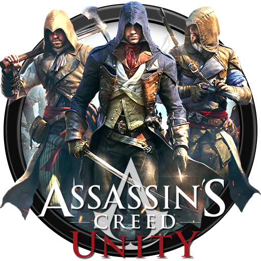 Assassinu0027s Creed - Unity Icon v1 by andonovmarko PlusPng.com  - Assassins Creed Unity PNG