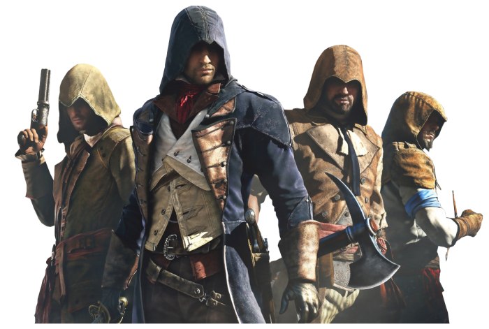 download Download 1177x793 PNG - Assassins Creed Unity PNG
