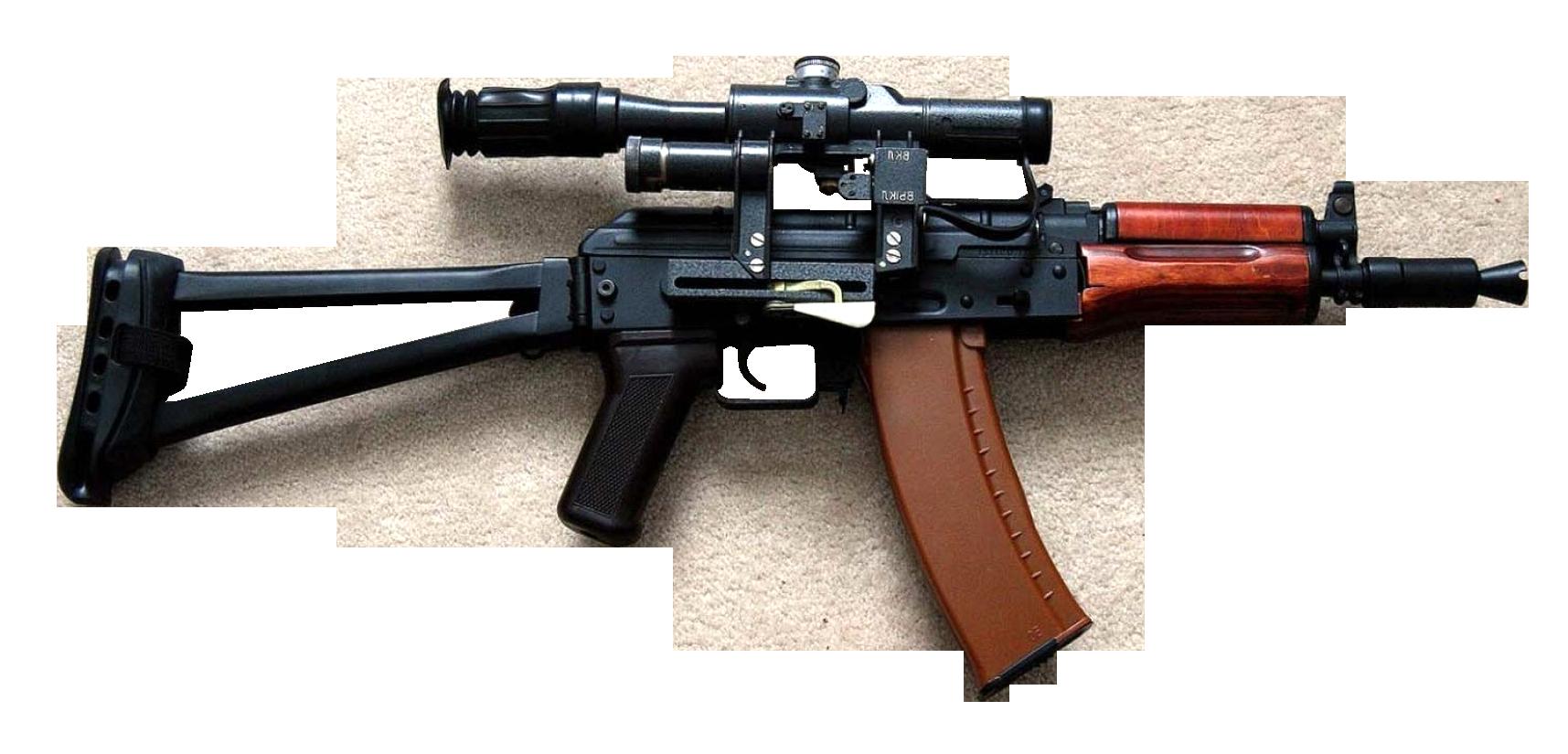 Assault Rifle HD PNG-PlusPNG.com-1715 - Assault Rifle HD PNG