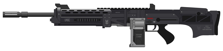pin Assault Rifle clipart transparent #8 - Assault Rifle HD PNG
