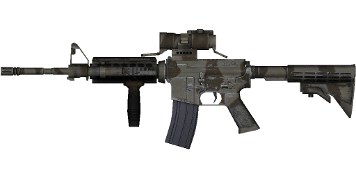 Weapon PNG Free Download - Assault Rifle HD PNG