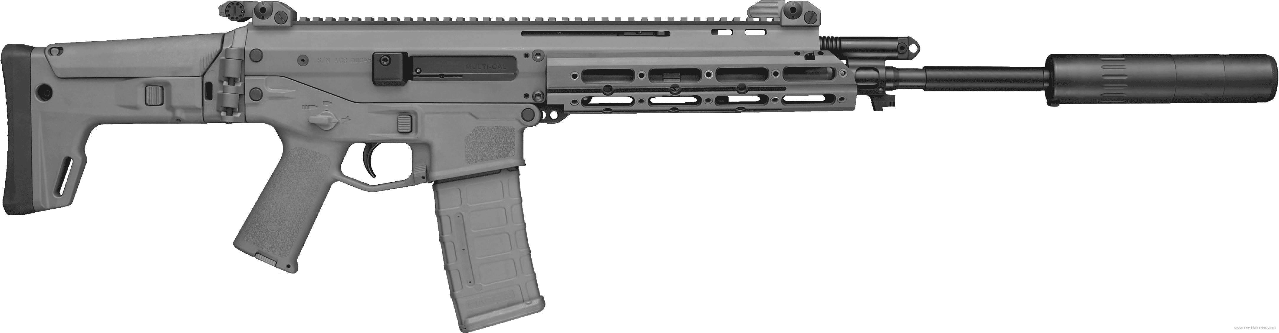 Assault Rifle PNG - 17708