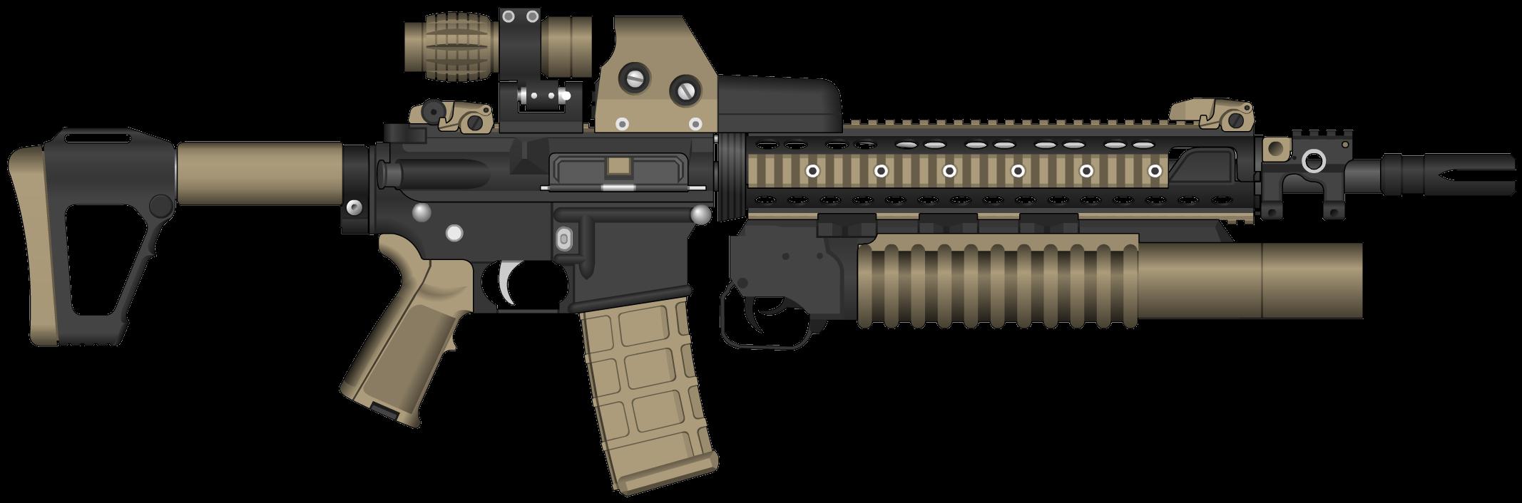 Assault Rifle PNG - 17693