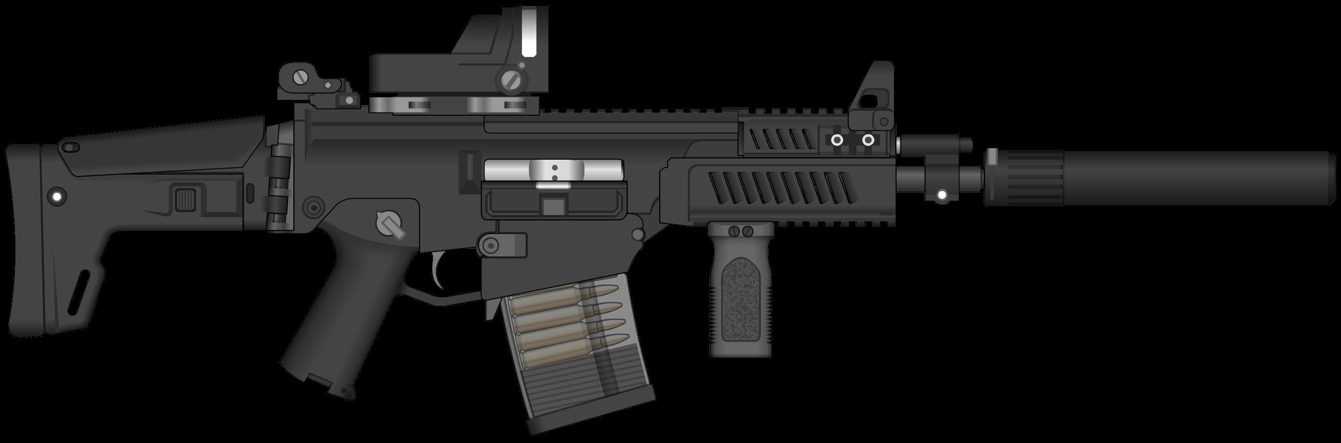 Assault Rifle PNG - 17694