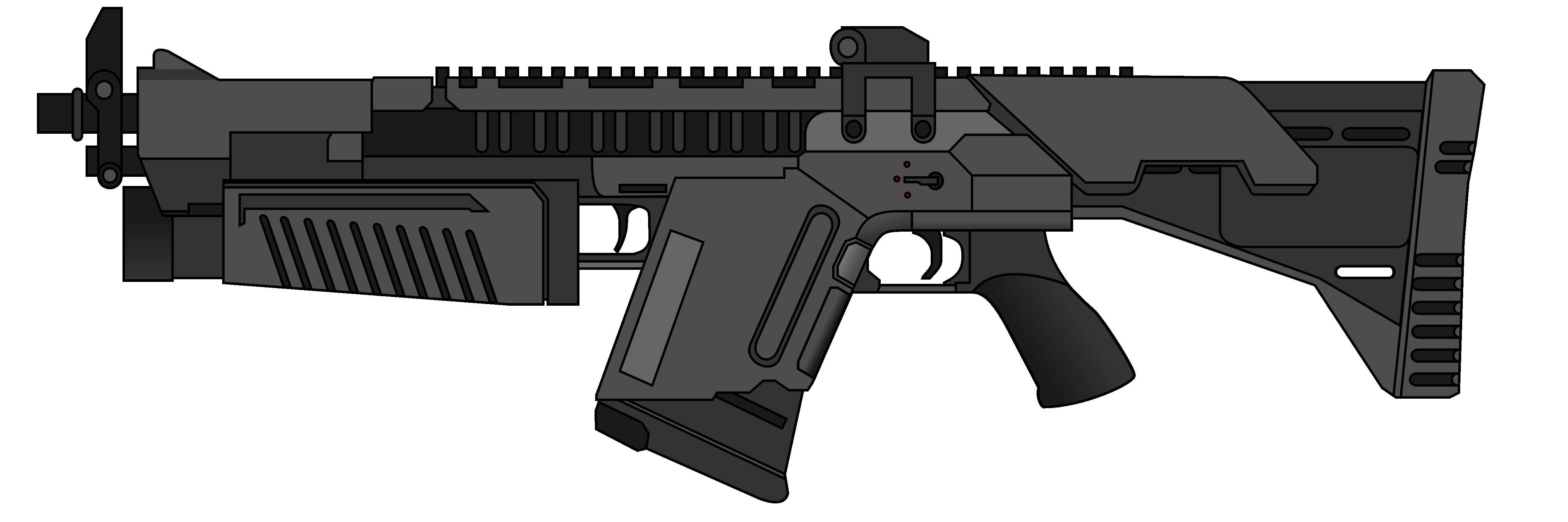Assault Rifle PNG - 17700