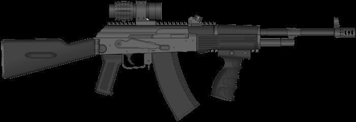 Assault Rifle PNG - 17692