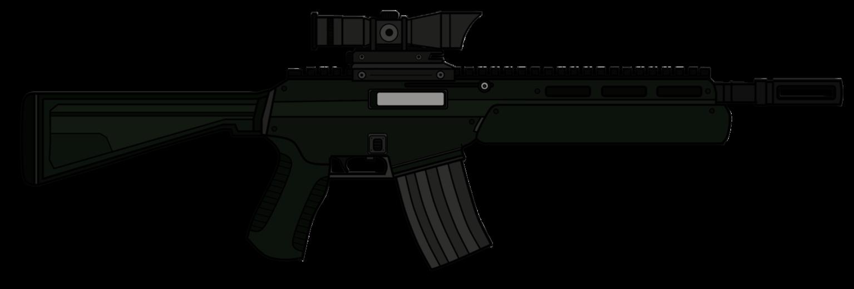 Assault Rifle PNG - 17699
