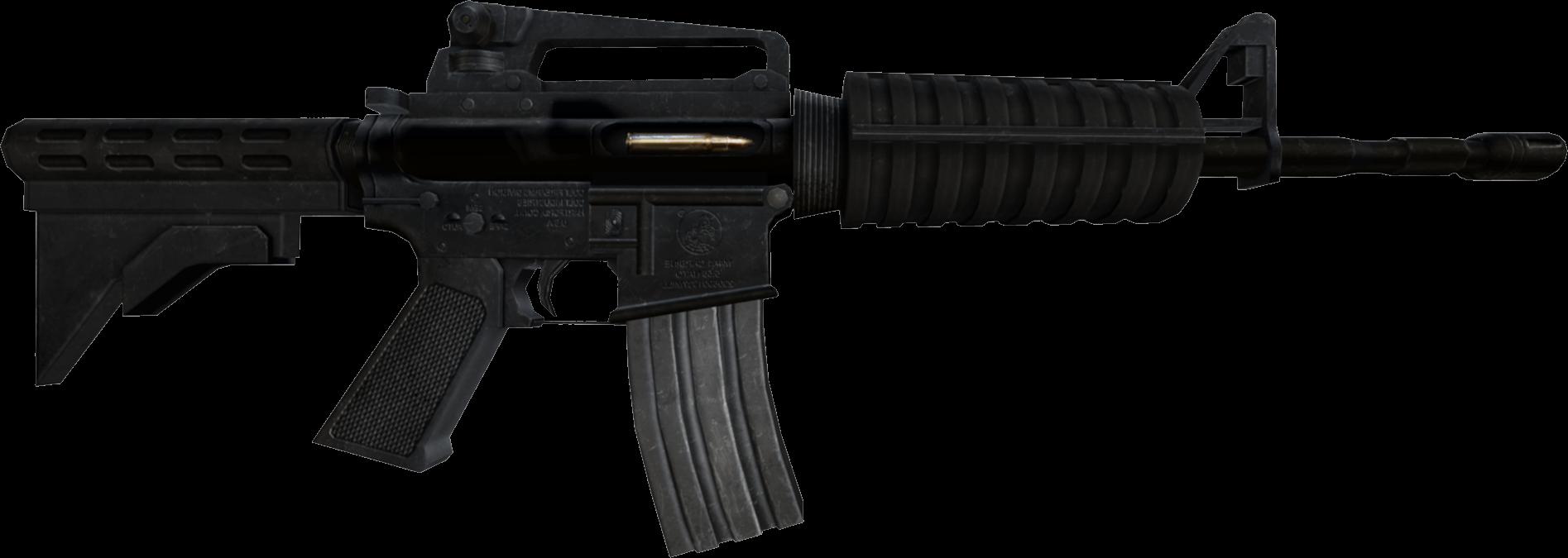 Assault Rifle PNG - 17702