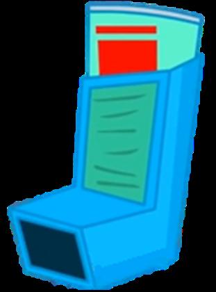 OT Asthma Inhaler.png - Asthma Inhaler PNG