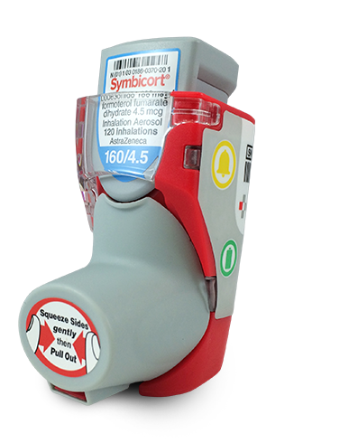 Smartinhaler™ is the worldu0027s most clinically proven asthma and COPD  medication adherence solution. - Asthma Inhaler PNG
