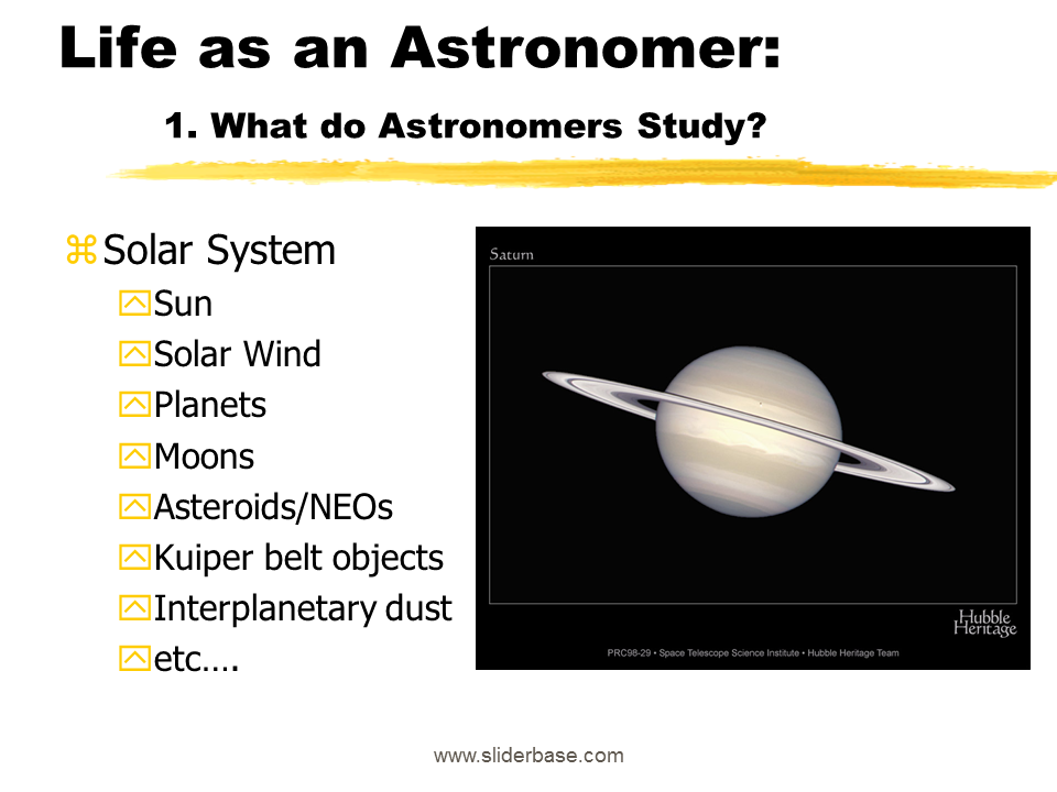 Life as an Astronomer: 1. What do Astronomers Study? - Astronomers At Work PNG