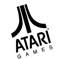Atari games Atari games vector - Atari Games Black Logo Vector PNG
