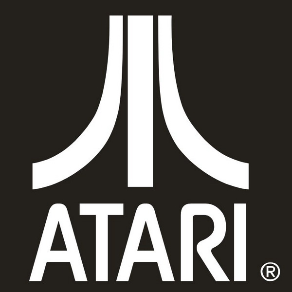 Atari is a video games PlusPng.com  - Atari Games Black Logo Vector PNG