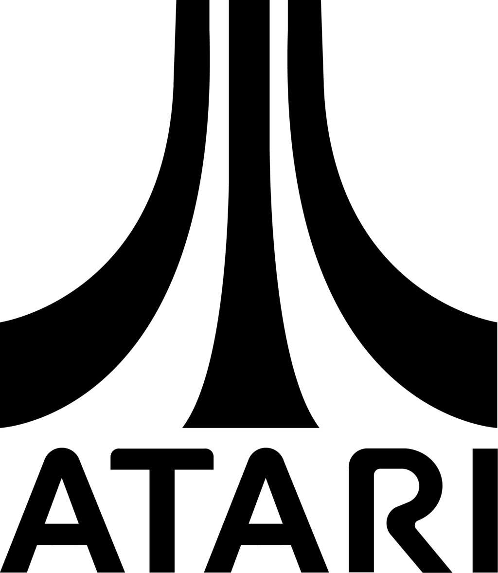 Atari Logo 2 by DHLarson Atari Logo 2 by DHLarson - Atari Games Black Logo Vector PNG
