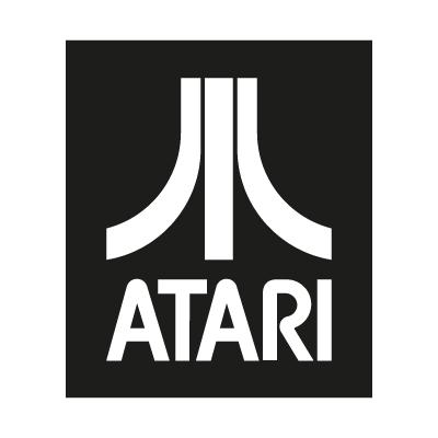 Atari logo - Atari Games Black Logo Vector PNG