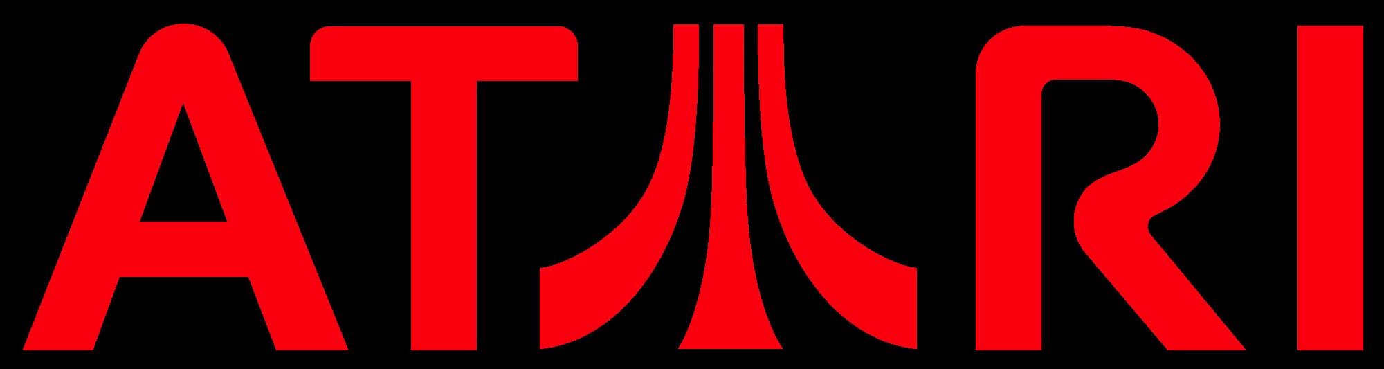 Atari Logo.png - Atari Games Black Logo Vector PNG