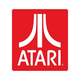 Atari logo vector - Atari Games Black Logo Vector PNG