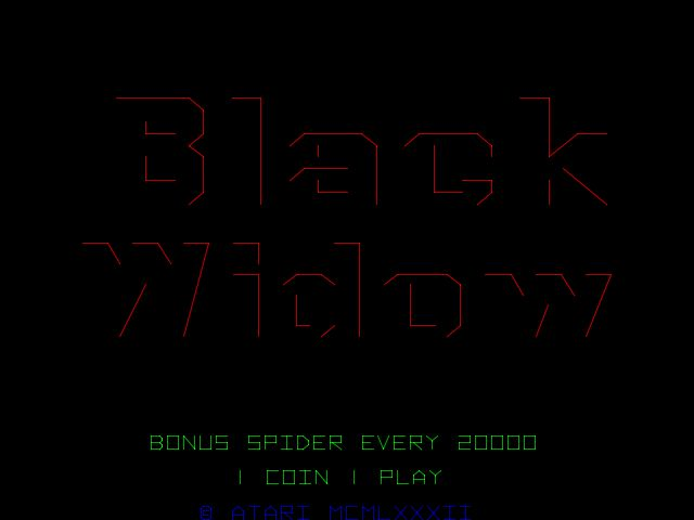 Black Widow - Videogame by Atari - Atari Games Black Logo Vector PNG