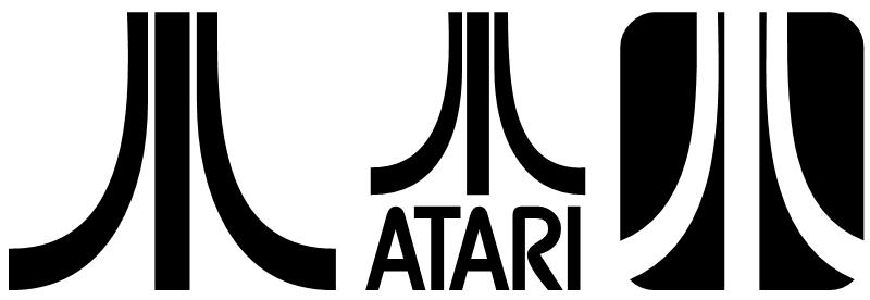 Image - Logo Atari PNG - Atari Games Black Logo Vector PNG