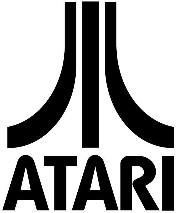 Atari Games Black Vector PNG