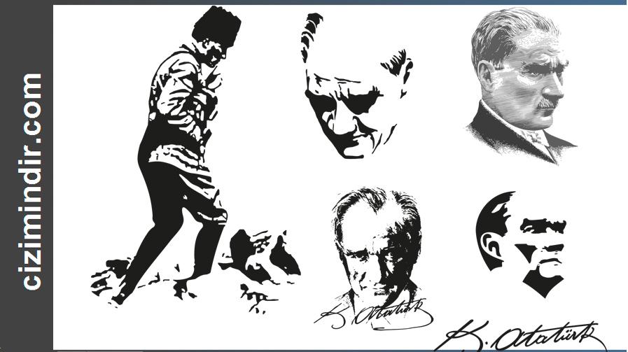 Mustafa Kemal Atatürk Ekran Görüntüleri - Ataturk 03 Vector PNG