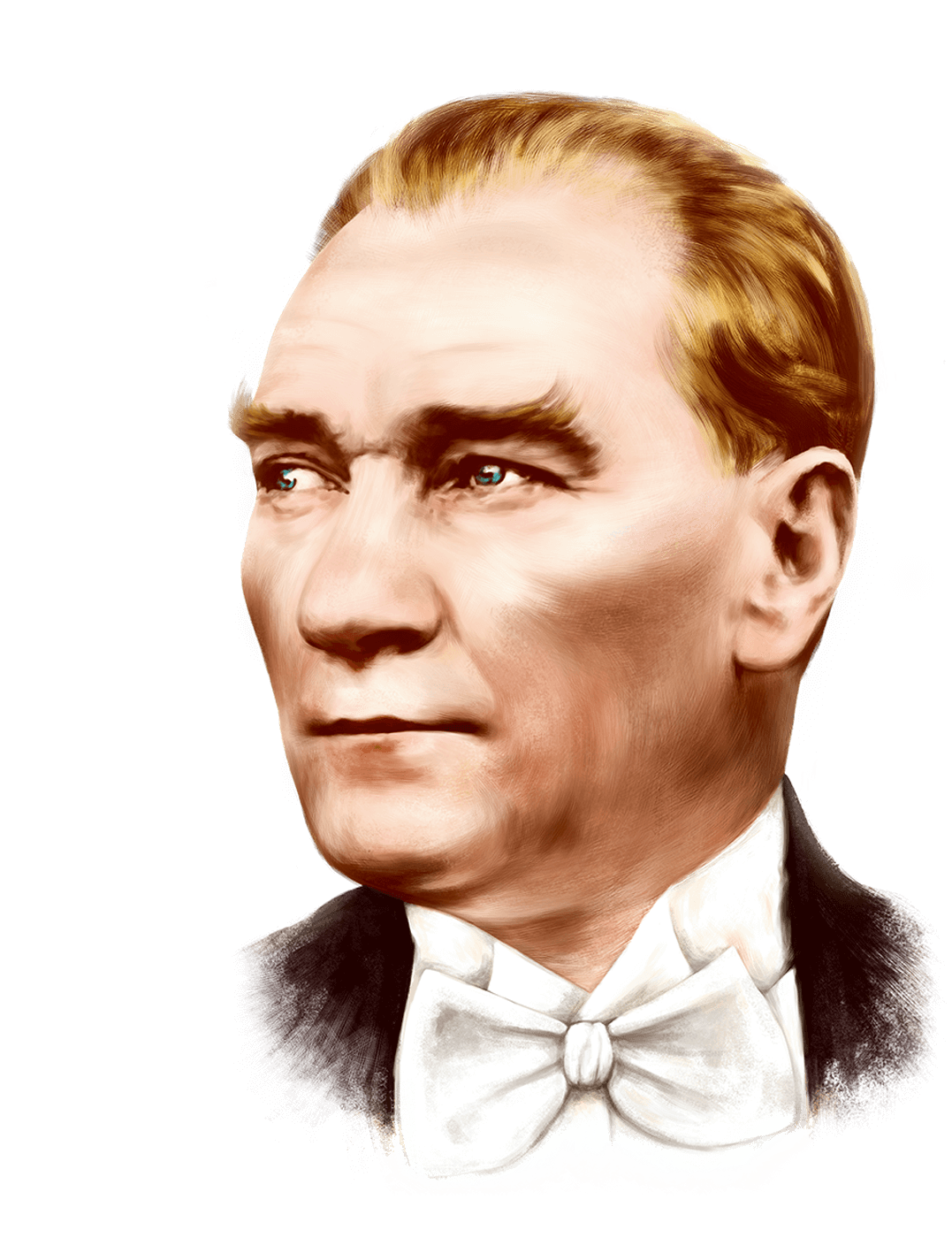 The photo gallery of Mustafa Kemal Atatürk, Best pictures of Mustafa Kemal  Atatürk. - - Ataturk 03 Vector PNG
