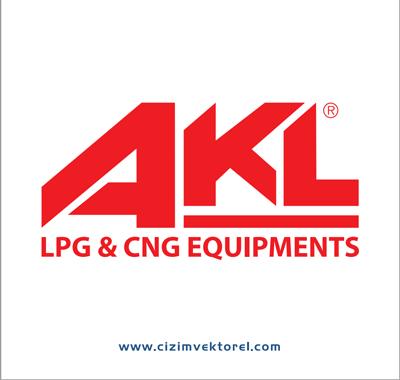 AKL LPG Vektörel Çizim Logo - Atiker Logo Vector PNG
