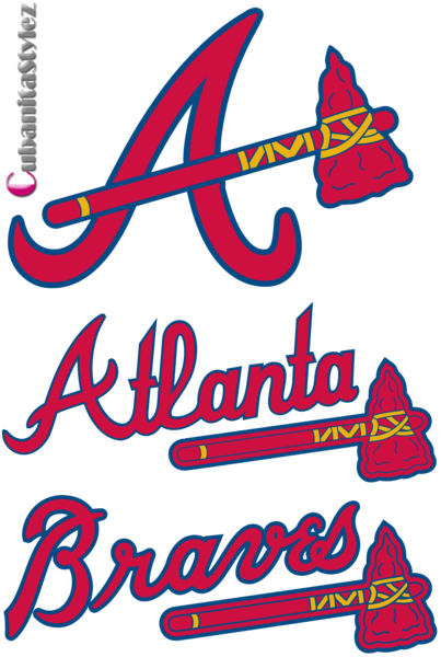 Atlanta Braves Logos PSD