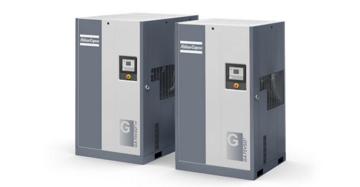 Atlas-Copco-Quiet-Air-Compressors.png - Atlas Copco Service PNG