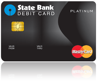 State Bank Platinum International Debit Card PlusPng.com  - Atm Card PNG