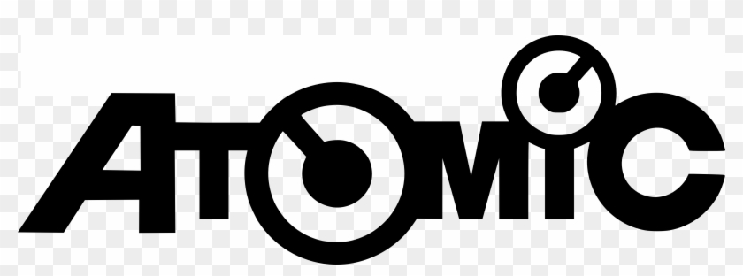 Atomic Logo With A Slanted A