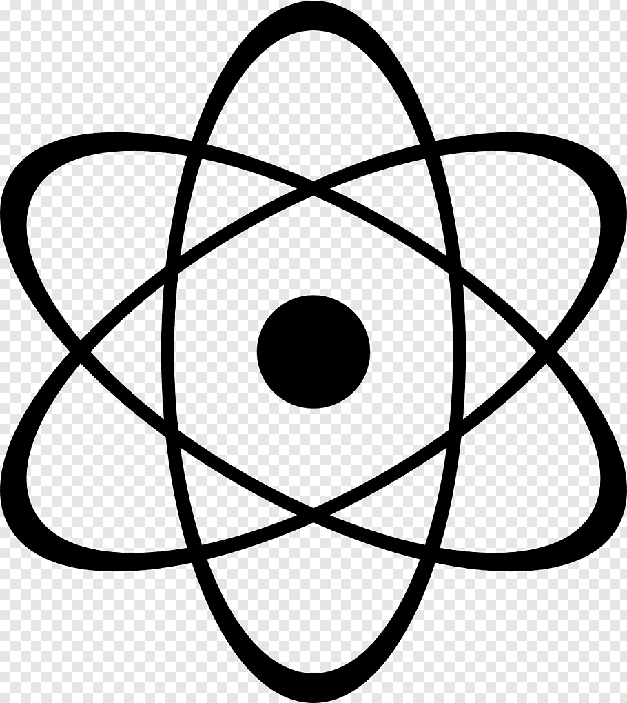 Black Star Logo, Atomic Nucleus Nuclear Physics, Atomic Free Png Pluspng.com  - Atomic Logo PNG