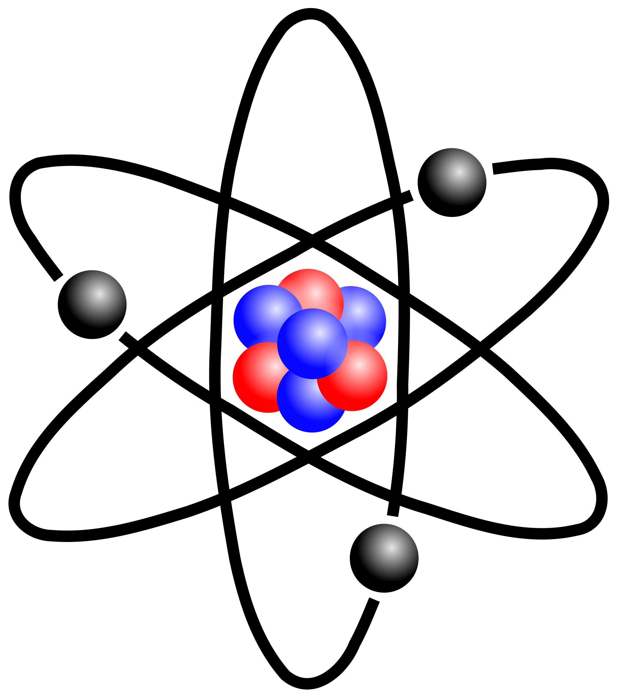 The atom. - Atoms PNG