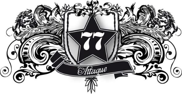 Attaque 77 Logo PNG - 32906