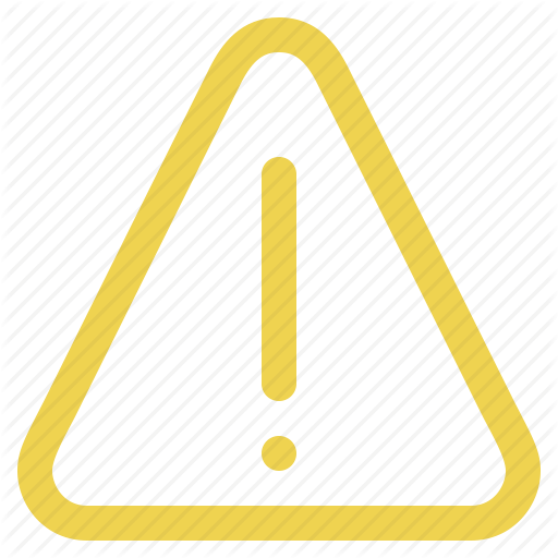 alert, attention, caution, danger, exclamation, notice, sign, storm, - Attention Sign PNG